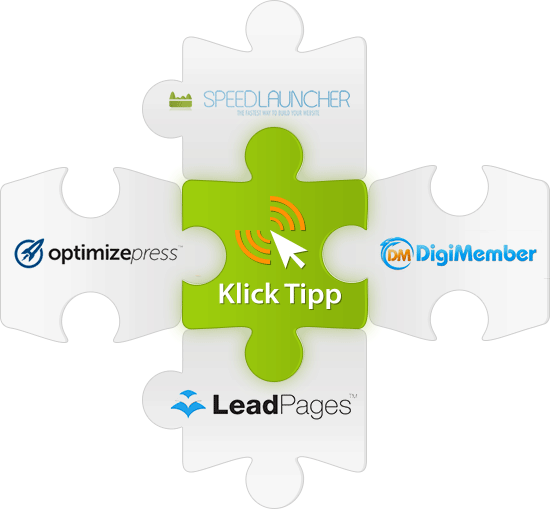 KlickTipp-Integrationen zu Landingpage-Tools wie OptimizePress und LeadPages